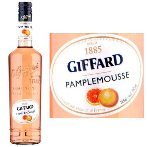 Giffard Creme De Pamplemousse French Cordial Liqueur 750 Ml