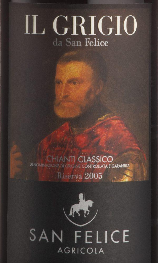 San Felice Chianti Classico Riserva Il Grigio 2013/2014 Red Italian Wine 750mL