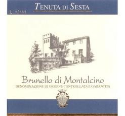 Tenuta di Sesta Brunello di Montalcino 2012 Italian Red Wine 750 mL