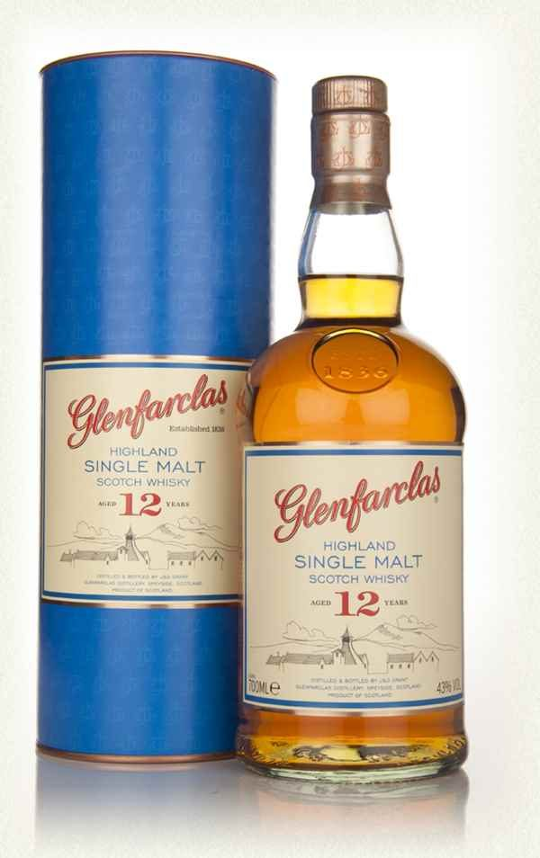 Glenfarclas 12 Year Old Highland Single Malt Scotch Whisky