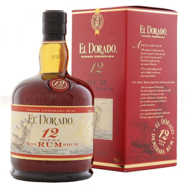 El Dorado 12 Year Old Special Reserve Rum