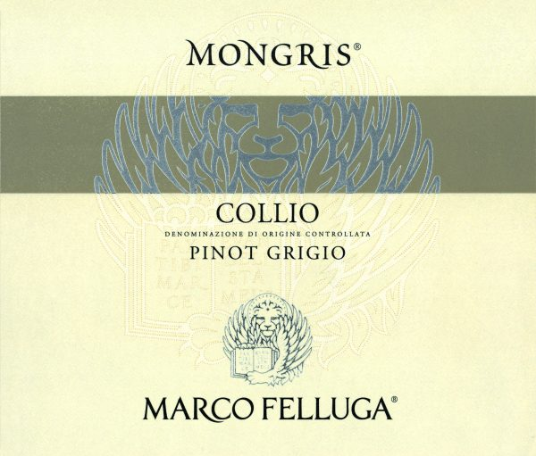 Marco Felluga Pinot Grigio Mont Gris Italian White Wine