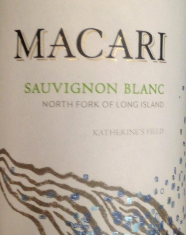 Macari Sauvignon Blanc 2016 Long Island White Wine