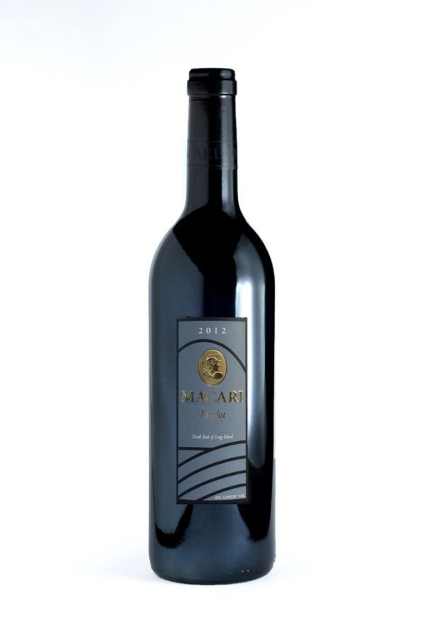 Macari Estate Merlot 2012 Long Island Red Wine