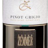 Peter Zemmer Pinot Grigio Alto Adige Italian White Wine