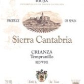 Sierra Cantabria Rioja Crianza 2011 375 mL Spanish Red Wine