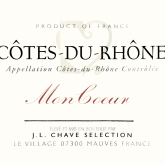 Jean-Louis Chave Selections Cotes du Rhone Mon Coeur 2014 Red Rhone Wine
