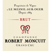 My new favorite grower's Champagne:  Robert Moncuit NV Blanc de Blancs Brut French Sparkling Wine