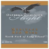 Osprey's Dominion Flight Meritage 2010 Red Long Island Wine