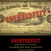 Counterfeit Cabernet Sauvignon Sonoma Valley 2014 Red California Wine 750mL