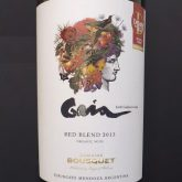 Domaine Jean Bousquet Gaia Red Blend 2014 Argentina Red Wine 750 mL