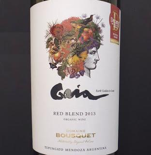 Domaine Jean Bousquet Gaia Red Blend 2014 Argentina Red Wine 750 mL