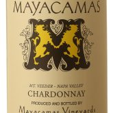 Mayacamas Mt Veeder Napa Valley Chardonnay 2015 California White Wine 750 mL