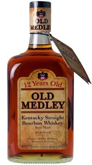 Charles Medley Distillery Bourbon 12 year Kentucky Bourbon Whiskey