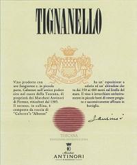 Antinori Tignanello 2013 Italian Tuscan Red Wine 750 mL
