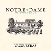 Notre Dame de Cousignac Vacqueyras 2014 French Red Rhone Wine