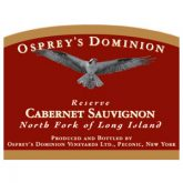 Osprey's Dominion Cabernet Sauvignon Reserve 2013 Long Island Red Wine