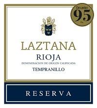 Laztana Reserva Rioja 2010 Red Spanish Wine
