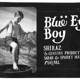 Mollydooker Shiraz Blue Eyed Boy Australian Red Wine 750 mL