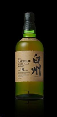 Suntory Hakushu 18 Year Old Single Malt Japanese Whisky 750 mL