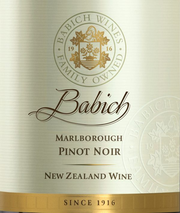 Babich Pinot Noir MarlboroughNew Zealand Red Wine 750 mL