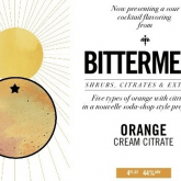 Bittermens Orange Cream Citrate 5 ounce bottle