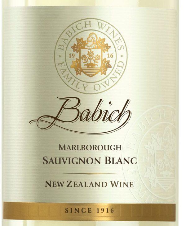 Babich Sauvignon Blanc New Zealand White Wine 750mL