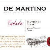 De Martino Maipo Valley Estate Organic Sauvignon Blanc 2015 Chilean White Wine