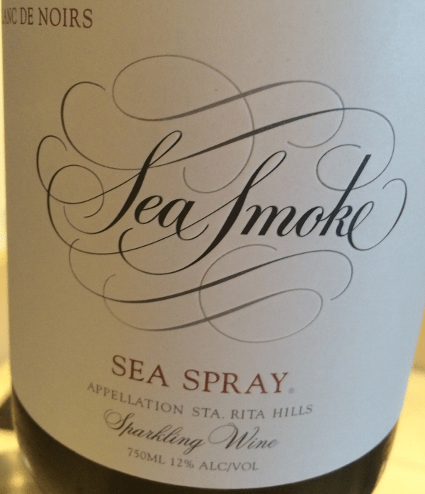 Sea Smoke Sea Spray Santa Rita Hills Blanc de Noirs 2012 California Sparkling Wine