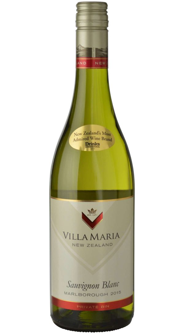 Villa Maria Sauvignon Blanc Private Bin Collection New Zealand White Wine 750mL