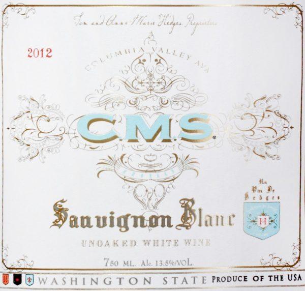 Hedges Family Estate CMS Sauvignon Blanc Washington White Wine