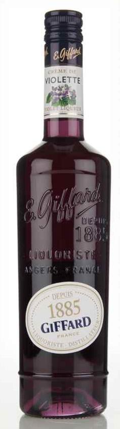 Giffard Creme De Violette French Cordial Liqueur 750 Ml Mora S