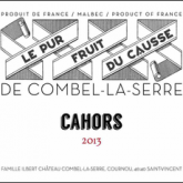 "Combel La Serre Cahors ""Le Pur Fruit Du Causse"" 2013 French Red Wine 750 mL"