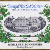 Weingut Max Ferdinand Richter Wehlener Sonnenuhr Riesling Kabinett 2016 German White Wine 750mL