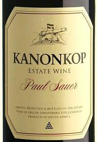Kanonkop Paul Sauer 2012 South African Bordeaux Blend 750 mL