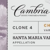 Cambria Clone 4 Chardonnay 2014 California White Wine 750 mL