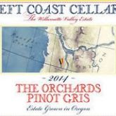 Left Coast Cellars The Orchards Willamette Valley 2014 Pinot Gris Oregon White Wine 750 mL