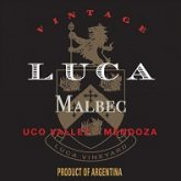 Luca Malbec Mendoza 2014 Argentina Red Wine 750mL