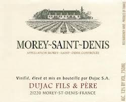 Domaine Dujac Morey Saint Denis 2014 French Red Burgundy Wine 750 mL