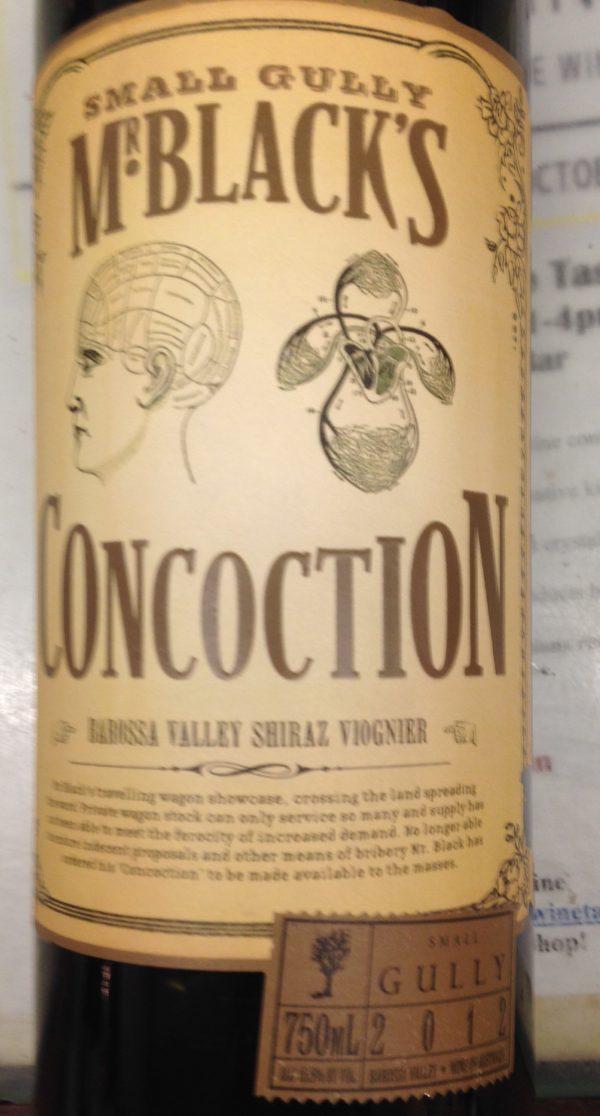 Small Gully Mr. Black's Concoction Shiraz/Viognier 2012 Australian Red Wine 750 mL