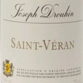 Joseph Drouhin Saint Veran 2015 French White Burgundy Wine 750 mL