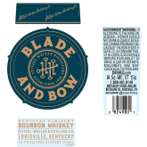Blade and Bow Kentucky Straight Bourbon Whiskey 750 mL