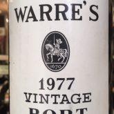 Warre's Vintage Porto 1977 Red Portugese Dessert Wine 750 mL