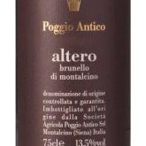 Poggio Antico Brunello di Montalcino Altero 2009 Italian Red  Wine 750 mL