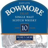 Bowmore Dorus Mor 2nd Release 10 Year Single Malt Islay Scotch Whisky 750 mL