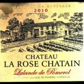 Chateau La Rose Chatain Lalande de Pomerol 2010 French Red Wine 750 mL