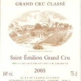 Chateau La Clotte St Emilion 2005 French Red Bordeaux Wine 750mL