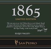 San Pedro 1865 Limited Edition Syrah 2012  Elqui Valley Chilean Red Wine 750mL