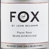 Foxes by John Belsham Pinot Noir 2014 New Zealand Red Wine 750 mL