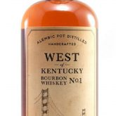 Sonoma County Distilling Co. West of Kentucky Cherrywood No. 1 Bourbon Whiskey 750 mL